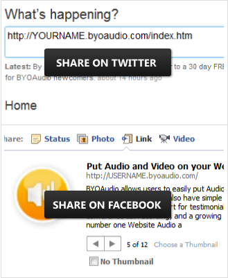 Copy your affiliate link directly or type it out then paste it to your twitter facebook blogs ect...